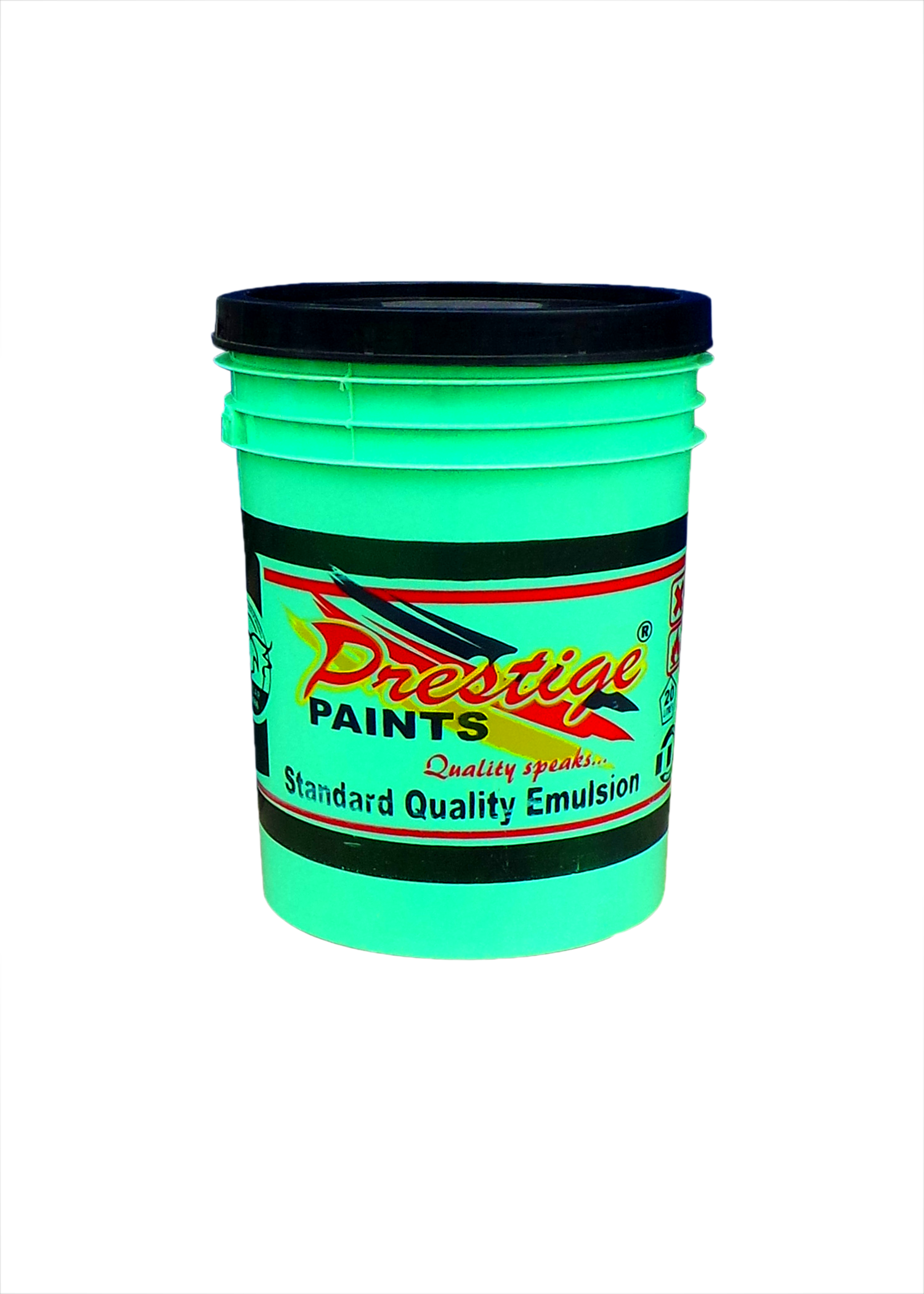 Prestige paint containers